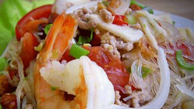 泰式酸辣海鲜粉的做法