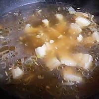 #一道菜表白豆果美食#粉条鲜肉菠菜汤的做法图解7