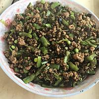 橄榄菜肉末四季豆的做法图解4