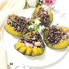 藜麦薏米南瓜盅#粗粮之美#