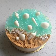 海洋酸奶慕斯蛋糕