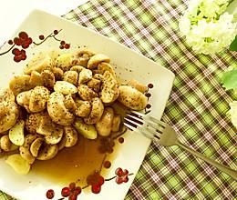 黄油黑椒口蘑的做法