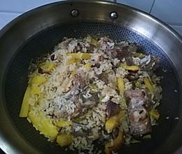 新疆的味道-羊肉手抓饭的做法