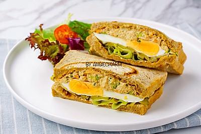 金槍魚沙拉雞蛋三明治