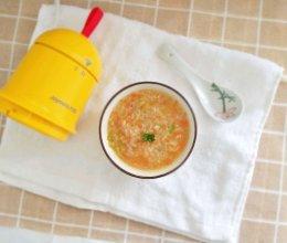 鳕鱼胡萝卜粥的做法