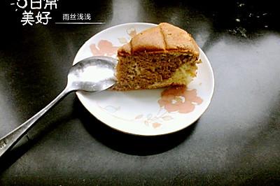 杏仁可可大理石蛋糕#haollee烘焙课堂#