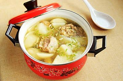 萝卜羊骨汤