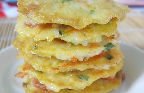 变废为宝之米饭土豆饼的做法
