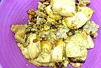 家常香菇豆腐肉沫的做法