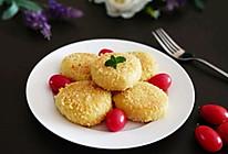 #百变水果花样吃#香蕉红薯饼的做法