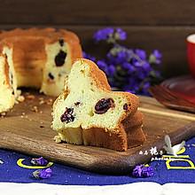 蔓越莓 萨瓦林酸奶戚风蛋糕