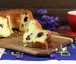 蔓越莓 萨瓦林酸奶戚风蛋糕的做法