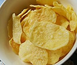 一次多做微波炉无油薯片【减肥同志的最爱】的做法