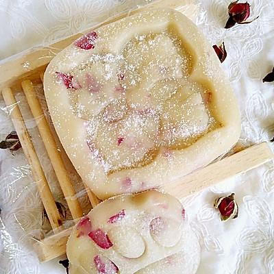 玫瑰冰皮月饼(简单版)