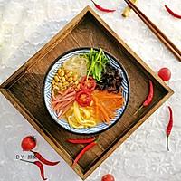#秋天怎么吃#春雨~五彩粉丝#麦子厨房#美食锅的做法图解9