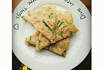 青椒土豆丝煎饼的做法