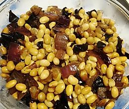 素炒黄豆的做法