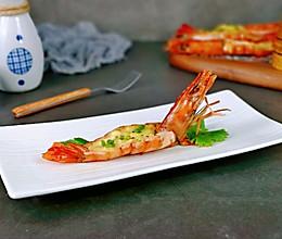 #我们约饭吧#芝士焗黑虎虾的做法