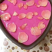 红心火龙果慕斯蛋糕的做法图解6