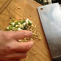 大喜大牛肉粉试用之蒜苗炒猪血的做法图解1