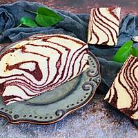 可可波纹戚风蛋糕的做法图解12