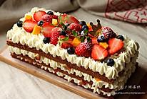 ~巧克力裸蛋糕~的做法