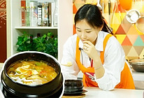 【微体兔菜谱】跟韩国欧尼学习最经典的大酱汤!的做法