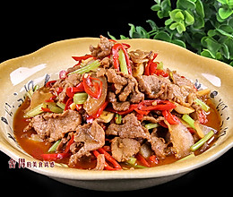 上班族的快手美味小炒肉, 好吃又下饭, 这样做肉嫩汤鲜的做法
