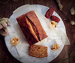 浓郁红枣核桃磅蛋糕的做法