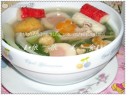 一品鲜白菜汤的做法