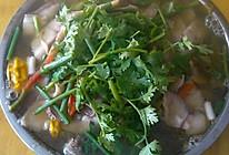 彩椒酸菜鱼的做法