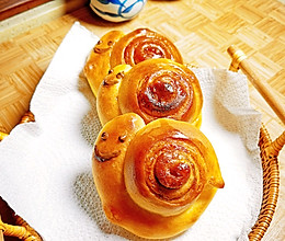 小蜗牛肉桂卷(面包)的做法