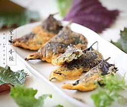 紫苏蛋饺的做法