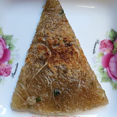 萝卜丝红薯粉煎饼(潮汕小吃,菜头粿)