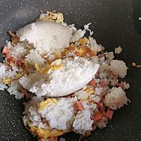 #今天吃什么#火腿肠鸡蛋炒饭的做法图解7