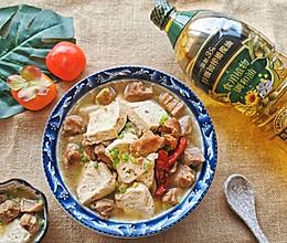 #新春美味菜肴#喜气洋洋过大年|羊肉炖豆腐的做法
