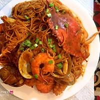 一起吃饭吧之青海大王海鲜炒面的做法图解11