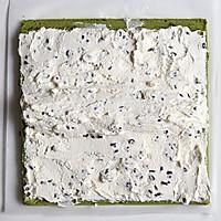 抹茶棉花蛋糕卷#春天里的一抹绿#的做法图解21
