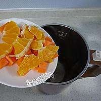 丑柑胡萝卜果蔬汁的做法图解3