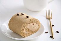 香浓咖啡奶油蛋糕卷,完美毛巾面的做法