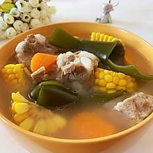腔骨玉米海带汤