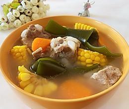 腔骨玉米海带汤的做法