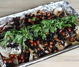 老干妈豆豉烤鱼的做法