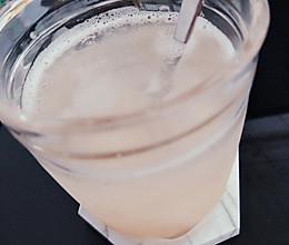 风味桃子气泡饮的做法