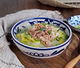羊肉卷白菜锅#冬天就要吃火锅#的做法
