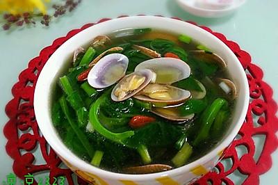 豌豆苗花甲汤