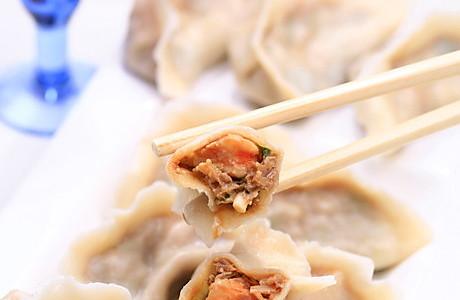 韭菜鲜虾馅饺子的做法