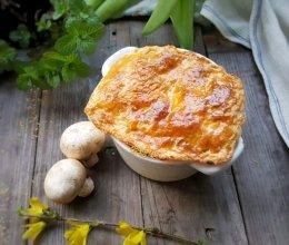 酥皮奶油蘑菇浓汤的做法