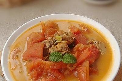 沙茶番茄炖牡蛎
