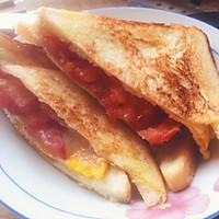 三明治(3分钟早餐)的做法图解2